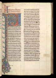 Decorated Initial, In A Volume Of Works By, Or Attributed To, St. Jerome f.32r